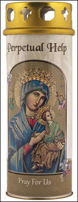 Perpetual Help Votive Candle (3 days burn time)