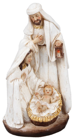 Holy Family Nativity Scene - Resin 7""