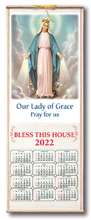 Our Lady of Grace Scroll Calendar 2021