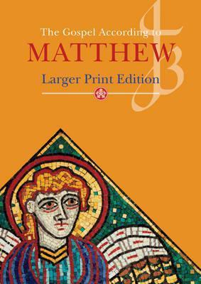 Large Print Gospel of Matthew