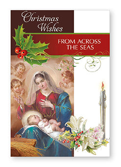 Christmas Card - From Across the Seas