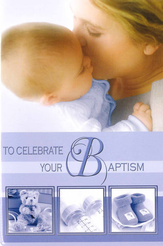 Baptism Card (Boy)