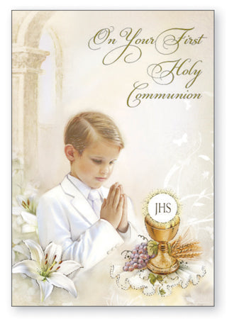 First Communion - Boy