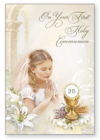 First Communion - Girl