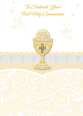 Handcrafted First Communion - Symbolic