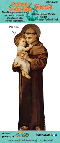 St. Anthony decal/sticker
