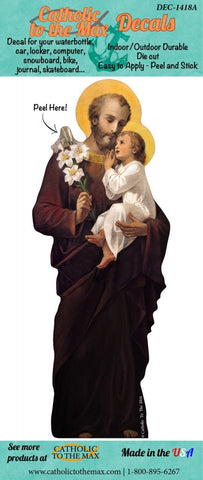 St. Joseph decal/sticker