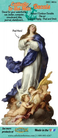 Immaculate Conception decal/sticker