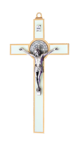 Luminous St. Benedict Wall Crucifix