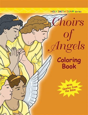 Choirs of Angels Colouring Book