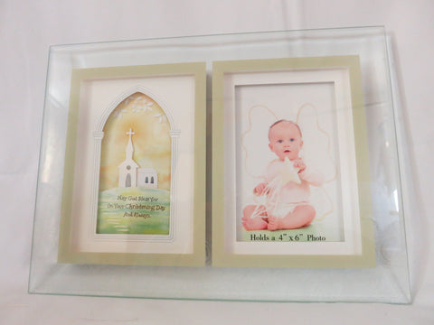 Christening Baby Photo Frame
