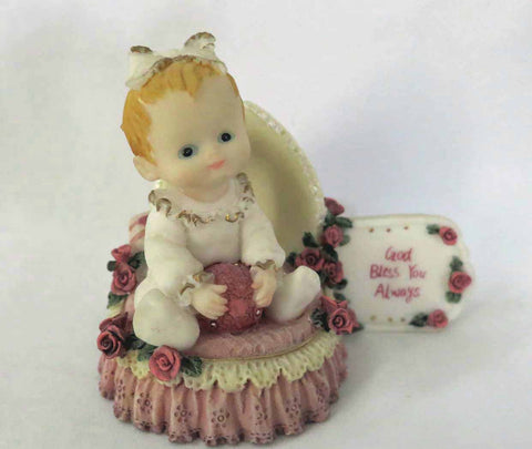 Baby Girl Statue - God Bless You Always