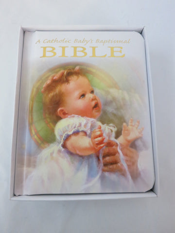 Catholic Baby's Baptismal Bible