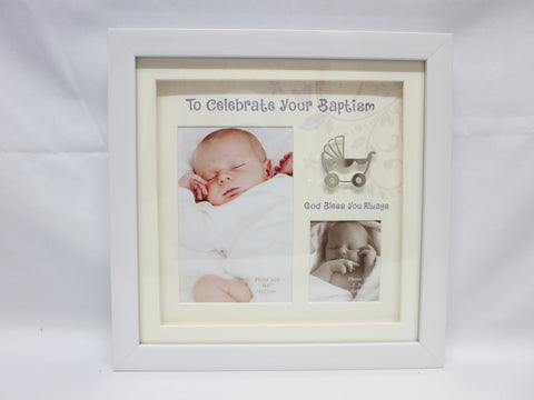 Baptism Baby Photo Frame