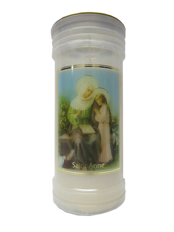 St. Anne Votive Candle (3 days burn time)