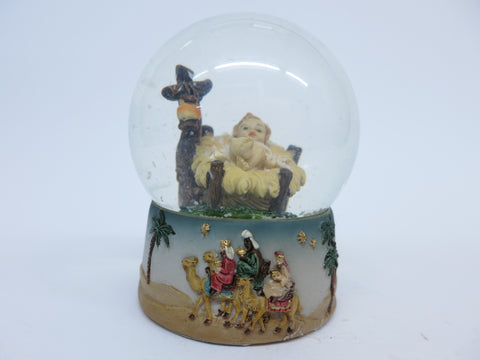 Nativity/Christmas Waterball 3""