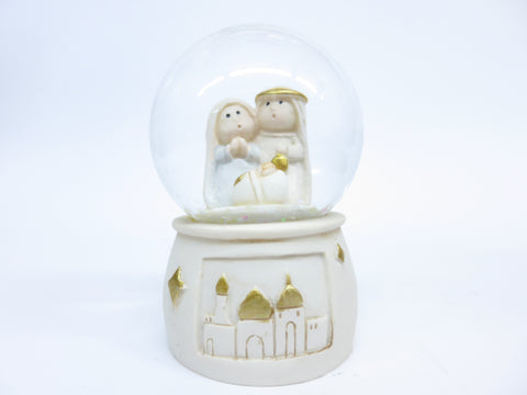 "Nativity/Christmas Waterball 2.75"" with Light"