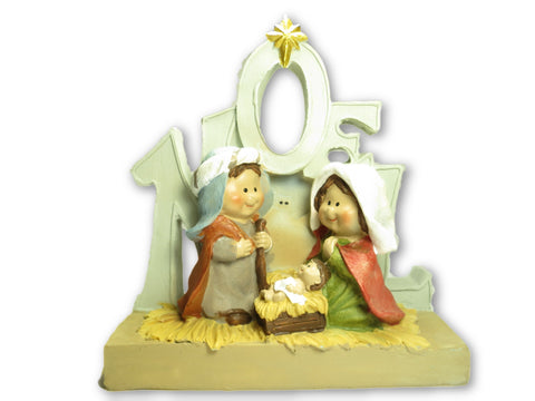 NOEL Kid's Nativity Scene 5.5 inches