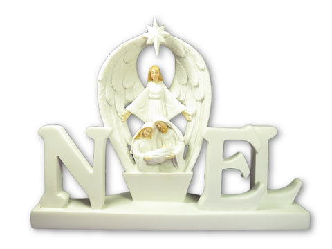 NOEL Light-Up Nativity Scene 6 inches