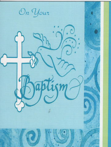 Baptism Card (Symbolic/Adult)