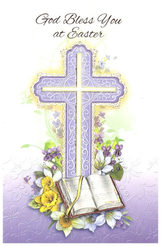 God Bless You at Easter Card