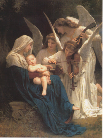 The Song of Angels Christmas Card