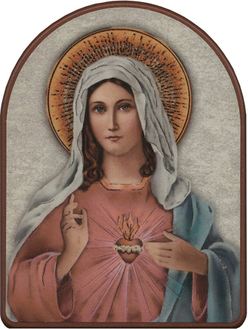 Immaculate Heart of Mary Plaque