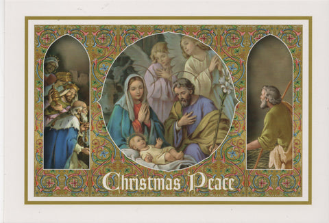 Christmas Peace Box of 18 Cards