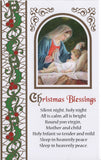 Christmas Blessings 10 assorted cards - 3 designs