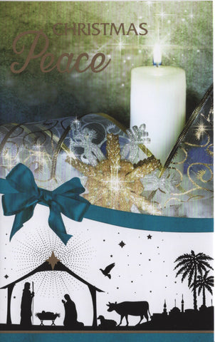 Christmas Wishes 10 assorted cards - 3 designs