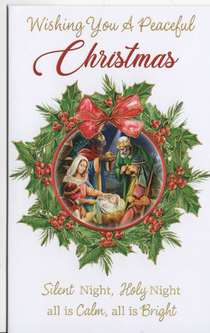 Peaceful Christmas 10 assorted cards - 3 designs