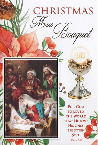 Christmas Mass Bouquet