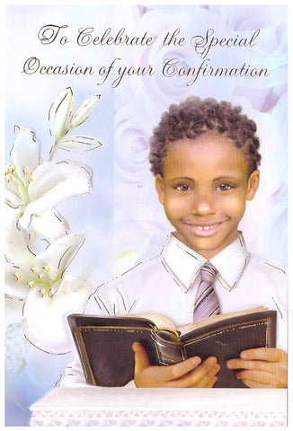 Confirmation Card - boy