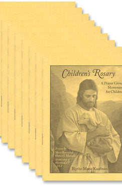 Children's Rosary - Pack of 10 Booklets