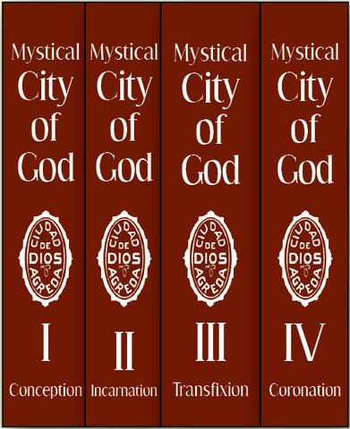 Mystical City of God - 4 volume set