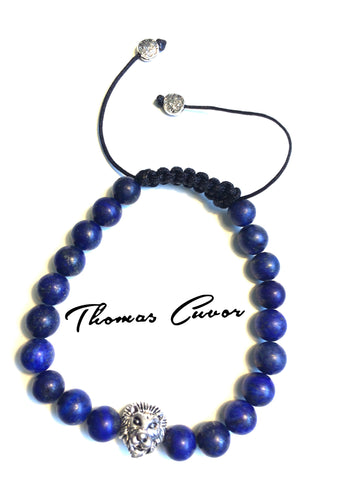 Blue Lion Head Shambala