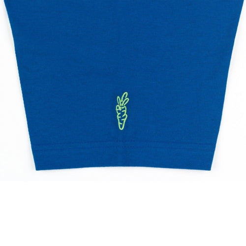 CIRCLE LOGO POCKET T-SHIRT - ROYAL BLUE