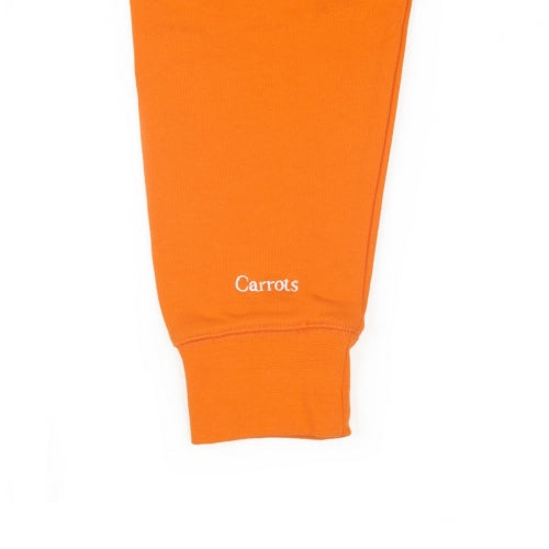 CARROT LOGO CREWNECK SWEATSHIRT - ORANGE