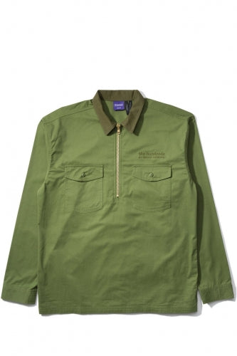 THE HUNDREDS x CARROTS HOUSE JACKET - OLIVE