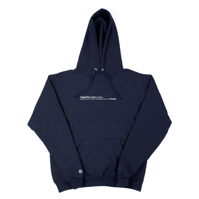 CARROTS FOR ORIGINAL FANI - FANI HOODIE - NAVY