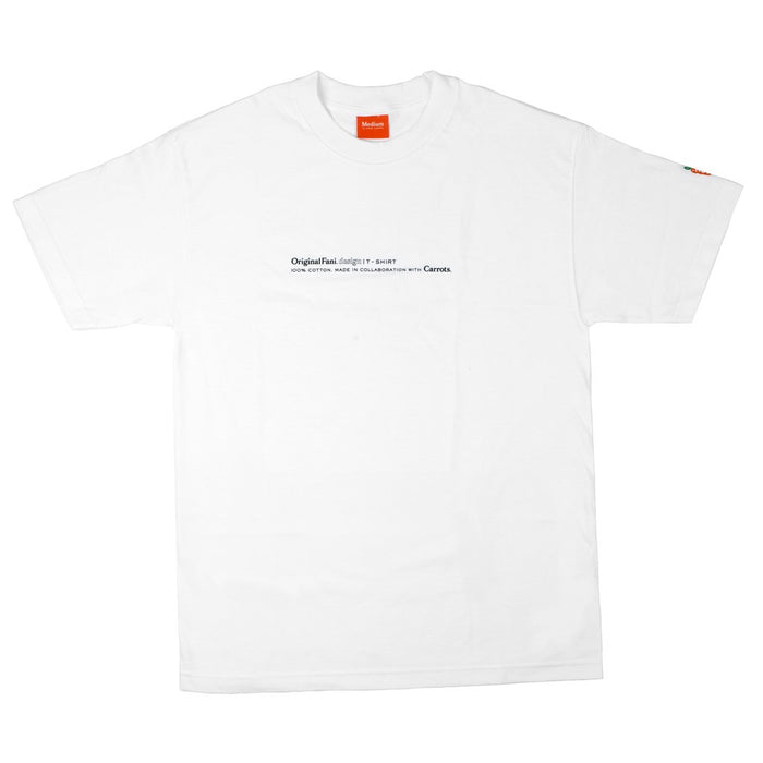 CARROTS FOR ORIGINAL FANI - FANI T-SHIRT - WHITE