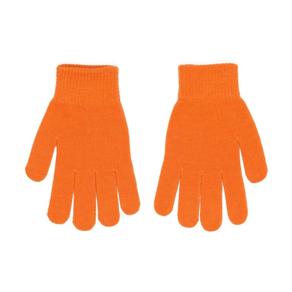 CARROTS KNIT GLOVE - ORANGE