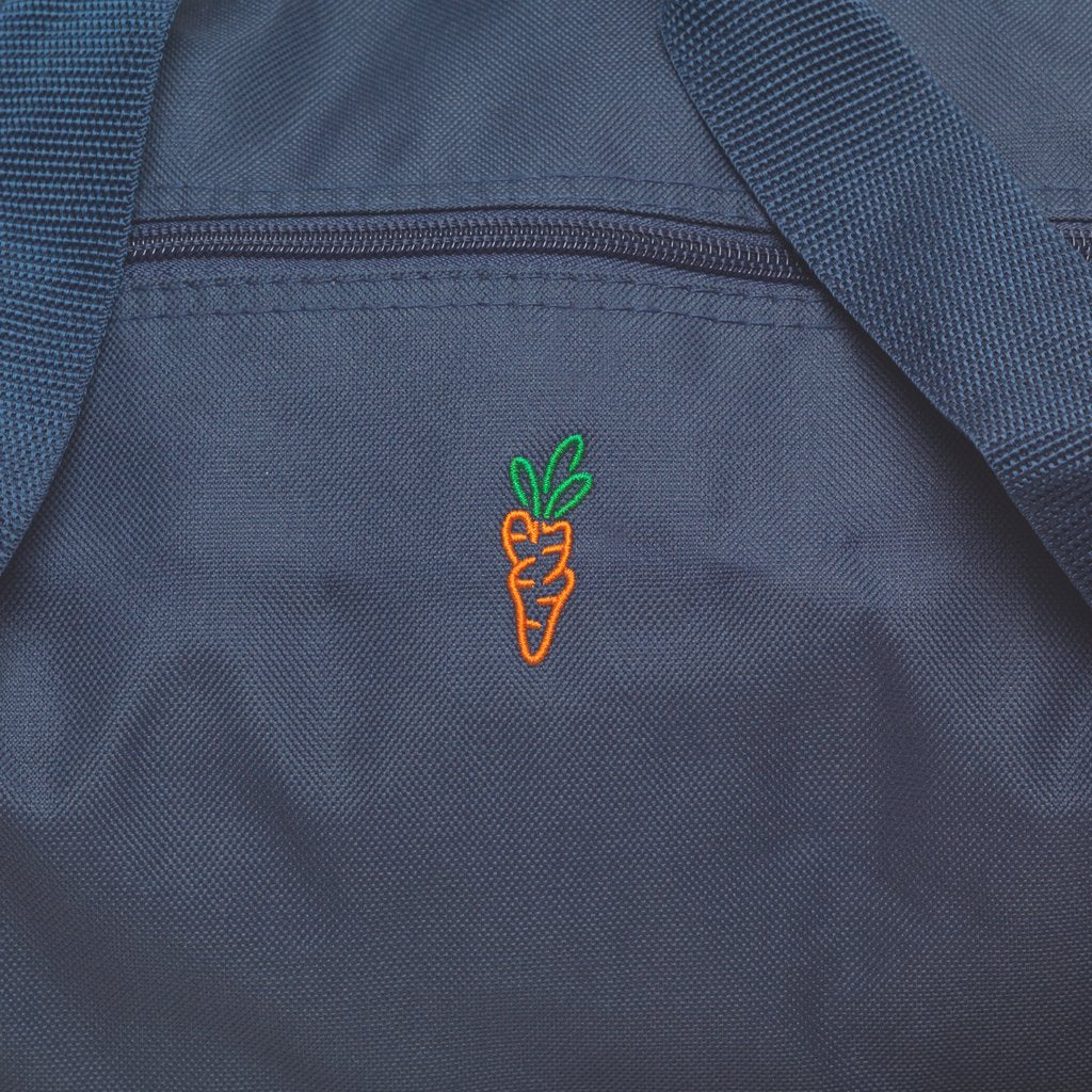 CARROT LOGO DUFFLE BAG - NAVY