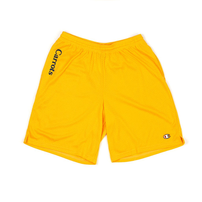 CARROTS CHAMOMILE - MESH SHORTS - GOLD