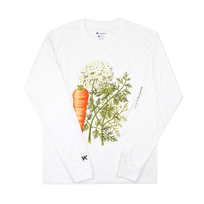 DAUSCUS CAROTA LONG SLEEVE - WHITE