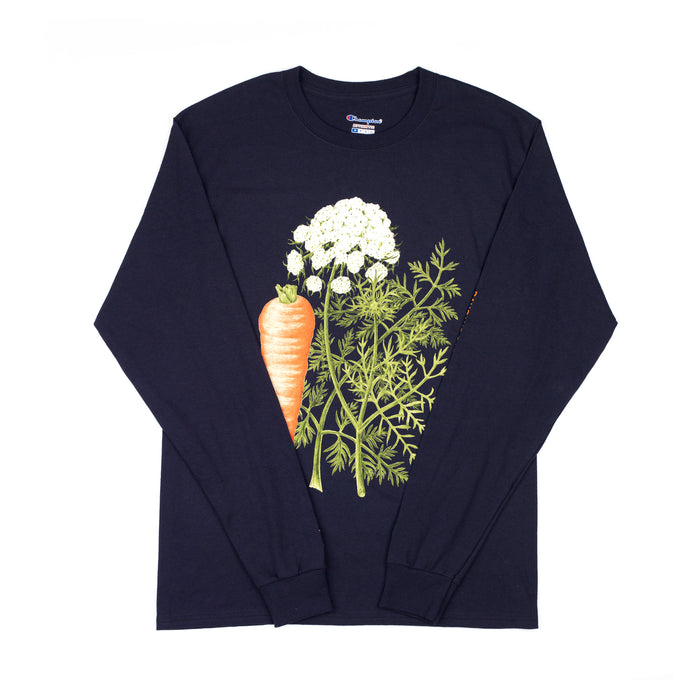 DAUSCUS CAROTA LONG SLEEVE - NAVY