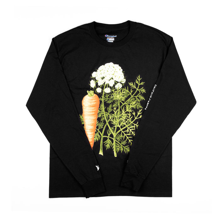 DAUSCUS CAROTA LONG SLEEVE - BLACK