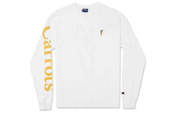CARROTS CHAMOLINE LS - WHITE/GOLD