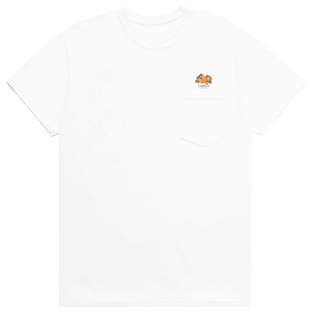 LOOM POCKET TEE - WHITE