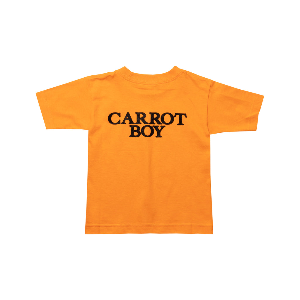 CARROT BOY KIDS TEE - ORANGE